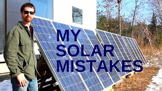 A PV Expert finds the flaws in my system