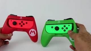 Nintendo Switch Pro Player Joy-Con Grips Super Mario Edition Review