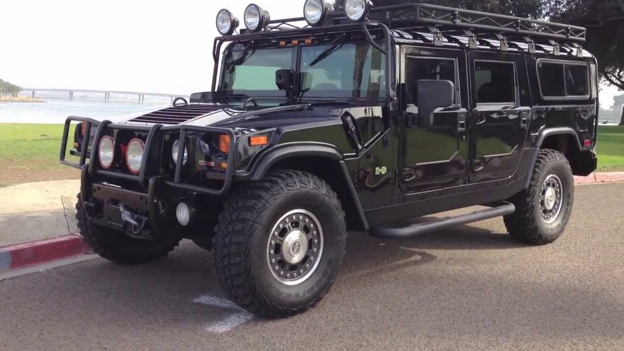 Hummers For Sale >> 2006 hummer h1 alpha wagon - YouTube