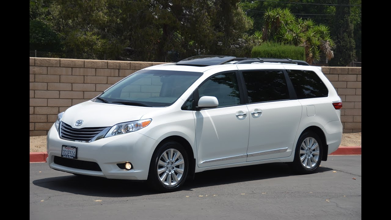 2015 toyota sienna xle premium awd 4x4 video tour youtube. Black Bedroom Furniture Sets. Home Design Ideas