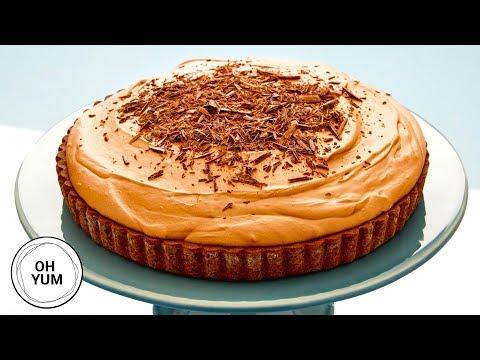 How To Make A HUGE Chocolate Truffle Tart!