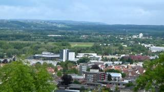 Ravensburg - Weingarten im Schussental am Feiertag dem 30.05.2013 von der Veitsburg aus gesehen