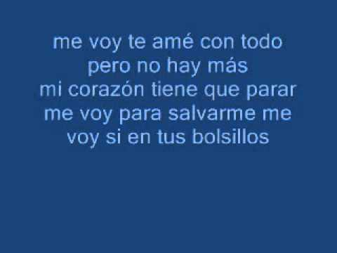 Ver Video de Andres Cepeda Me voy - Andres Cepeda (Letra)