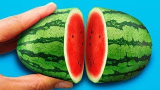 26 GENIUS FRUIT HACKS || How To Peel And Cut Fruits