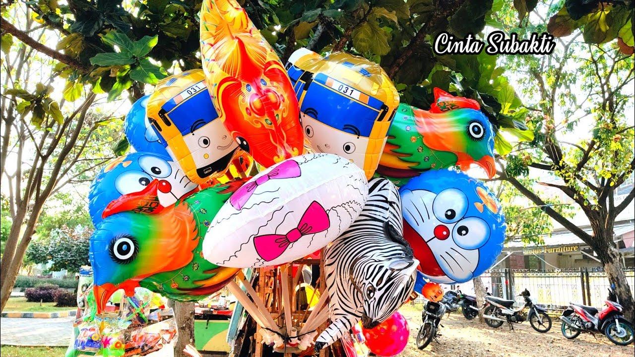 Beli Banyak Mainan Anak Balon Karakter Burung dan Balon Masha Lucu
