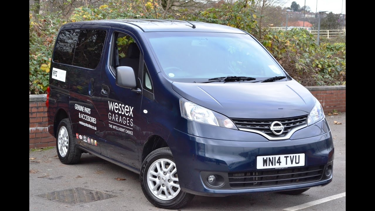 wessex garages demo nissan nv200 acenta combi van at. Black Bedroom Furniture Sets. Home Design Ideas