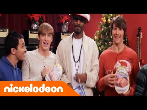 Big Time Rush ft Snoop Dogg  12 Days of Christmas  TeenNick