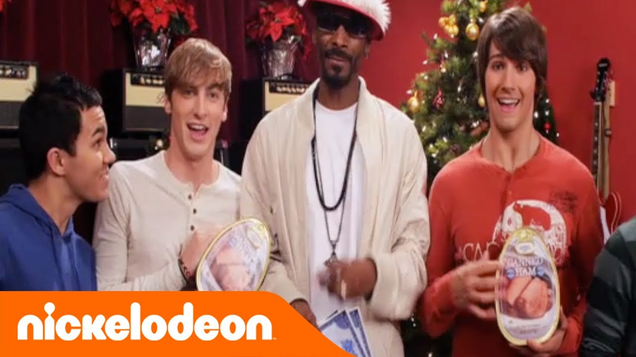 Snoop Dogg Christmas.Big Time Rush Ft Snoop Dogg 12 Days Of Christmas Nickelodeon Italia