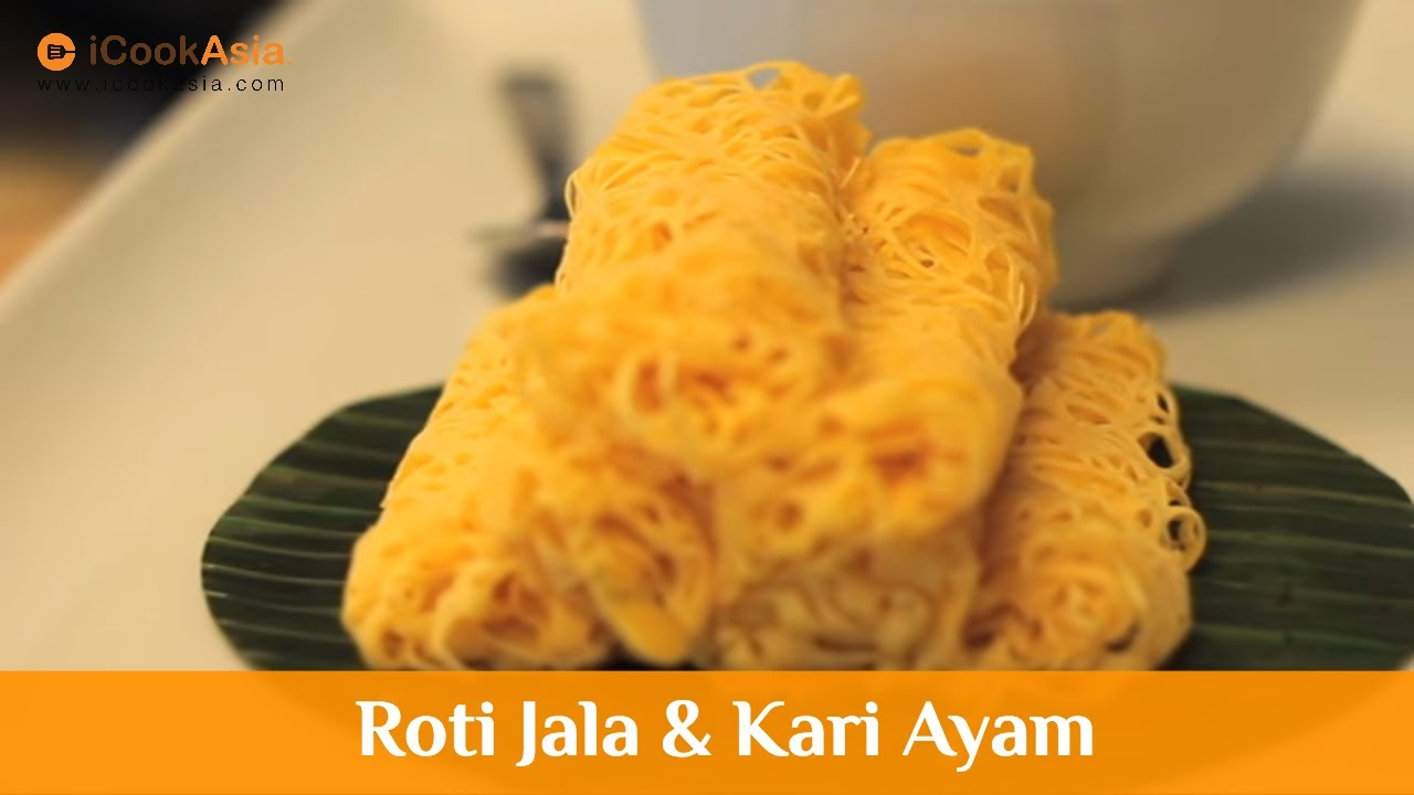 Roti Jala dan Kari Ayam | Maggi Cukup Rasa | Try Masak | iCookAsia - YouTube