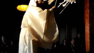 お神楽奉納。奈良吉野山桜本坊にて行われた天武天皇ご開眼の一部 2009年...
