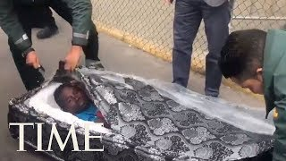 Two Migrants Were Discovered Inside Mattresses Trying To Cross The Spanish Border | TIME thumbnail