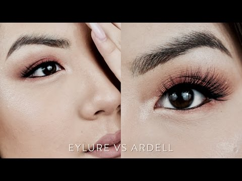 Drugstore Ardell & Eylure FAUX MINK Lashes Demo, Review, & Comparison - INMYSEAMS