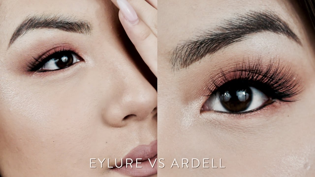 f8305381c1d Drugstore Ardell & Eylure FAUX MINK Lashes Demo, Review, & Comparison |  INMYSEAMS