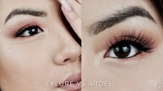 Drugstore Ardell & Eylure FAUX MINK Lashes Demo, Review, & Comparison   INMYSEAMS