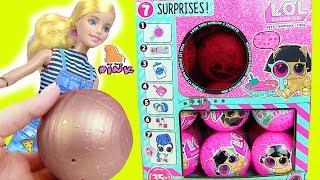 #ЛОЛ ПИТОМЦЫ LOL SURPRISE PETS EYE SPY WAVE 2 toy video! Барби Мультик + Распаковка Новых Игрушек