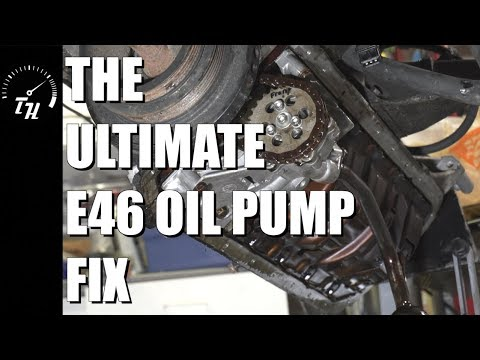The Ultimate E46 Oil Pump Fix // Let's get this engine back in the car!