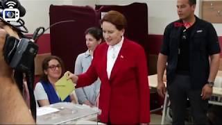 Meral Akşener İstanbul'da oy kullandı
