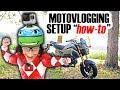 CHEAP MOTOVLOGGING SETUP!! | 2018 GROM Moto Vlog Setup & First RIDE!