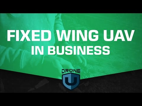 Fixed Wing UAV In Business - Ask Drone U