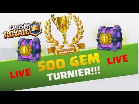 500 GEM TURNIER LIVE | KUBLEI KAHN eSports |  ABONNIEREN & LIKE | [CLASH ROYALE DEUTSCH/GERMAN]