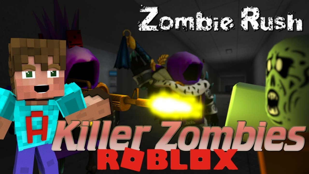 Roblox Zombie Rush How To Play Roblox Zombie Rush Roblox Lets