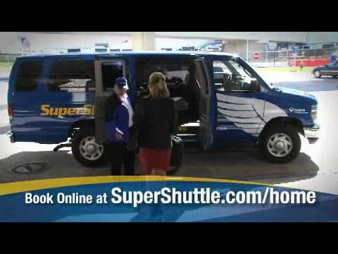 SuperShuttle Picks You Up At Your Front Door