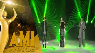 "Performance Raisa, Afgan, feat Kunto Aji ""Kali Kedua"" [AMI Awards 2016] [28 Sept 2016]"
