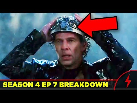 """Flash 4x07 """"Therefore I Am"""" Breakdown - MCU REFERENCE (JUSTICE LEAGUE EASTER EGGS)"""