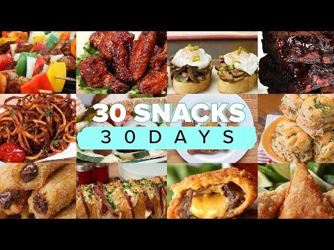 30 Snacks For 30 Days