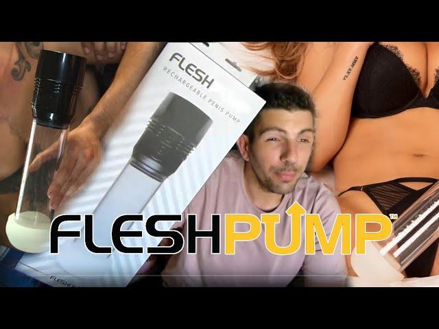 FLESHPUMP : la 1ère Pompe à Pénis de FLESHLIGHT