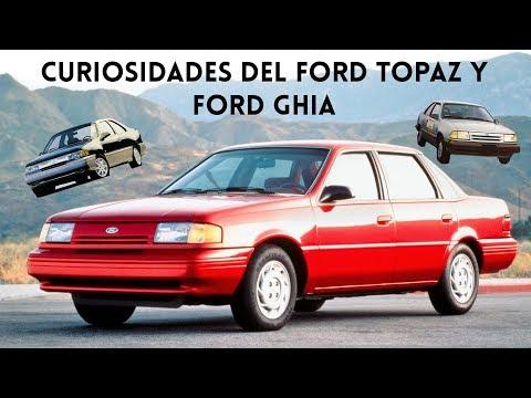 Datos Curiosos Del Ford Topaz Y Ford Ghia