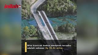 Kementerian PUPR Tangani Dua Jembatan Rusak Akibat Banjir - inilah.com