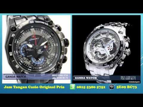 0815 5380 5751 Jam Tangan Pria Casio Edifice Original Youtube