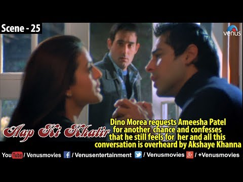 Dino requests Amisha for another chance & confesses, all conversation is overheard by Akshaye