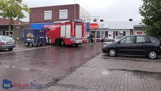 Wateroverlast in Lichtenvoorde na hoosbui