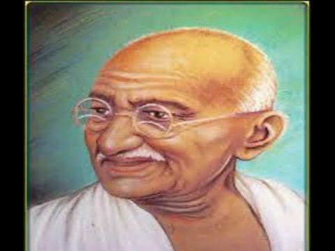 बापू भोले-भाले (Hindi Poem - Bapu Bhole Bhale)   Doovi Gandhiji Ke 3 Bandar Sketch