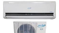 Mini split heat pump install