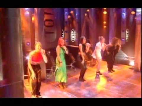 TOP OF THE POPS - SPICE GIRLS FIRST APPEARANCE IN 1996 (WANNABE)