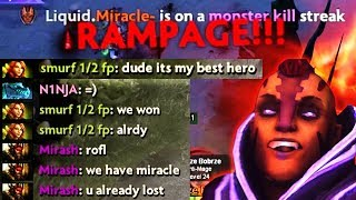 This Guy Picked His Best Hero vs Miracle And Said They Won - Miracle Godly Plays Dota 2