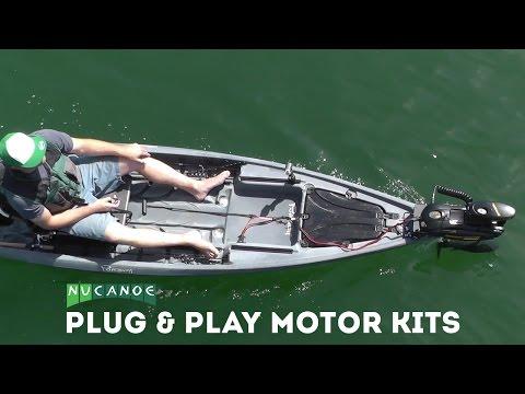 Motorized Fishing Kayaks   Hunting and Fishing Kayaks   NuCanoe