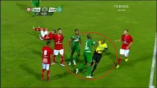 Players vs Referees ● Fights, Funny, Skills & Assist ● HD (part 2)