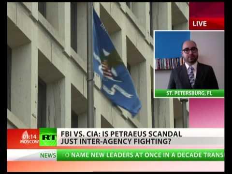 General Petraeus' sex scandal: CIA vs FBI?