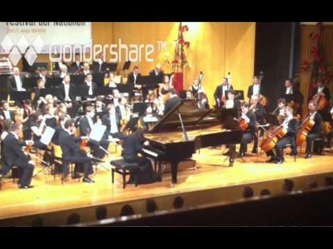 Tchajkovski.Piano Concerto No 1.Cadence  Mov 1.Kateryna TItova. Conductor Maxim Vengerov