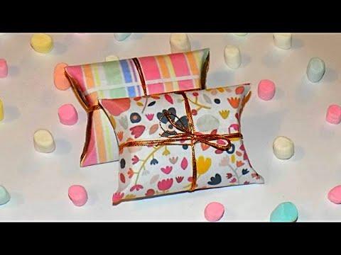 Diy cajitas de regalo con tubos de papel higienico gift - Manualidades con rollos de papel ...