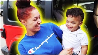 KYRIE SAID HE WANTS A BABY SISTER | THE PRINCE FAMILY