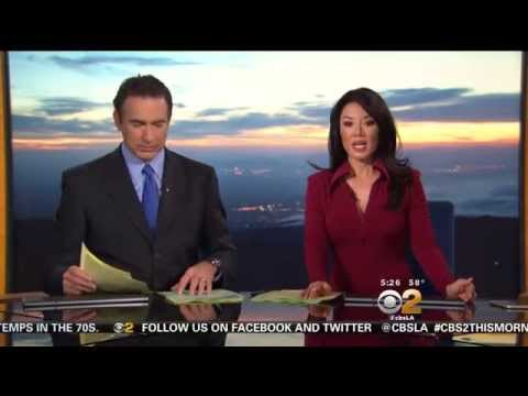 Sharon Tay 2015/05/06 CBS2 HD