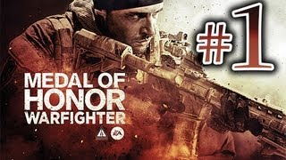 Medal of Honor Warfighter - Gameplay Walkthrough Part 1 HD  - First 3 Missions!