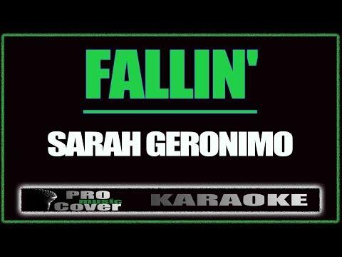 Fallin' - SARAH GERONIMO (KARAOKE)
