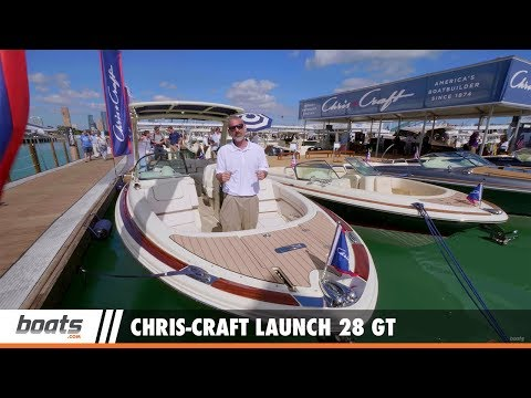 Chris-Craft Launch 28 GT: First Look Video