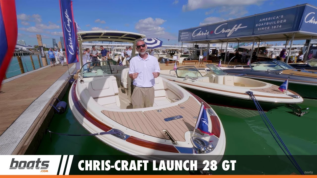 Chris-Craft Launch 28 GT Review - boats com